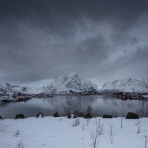Winter op de Lofoten