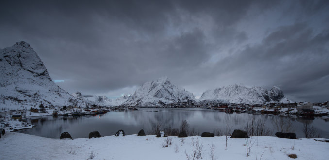 Winter op de Lofoten