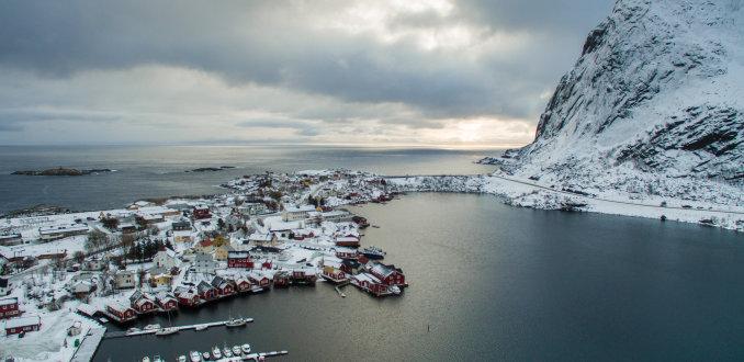 Reine een typisch dorpje op de Lofoten