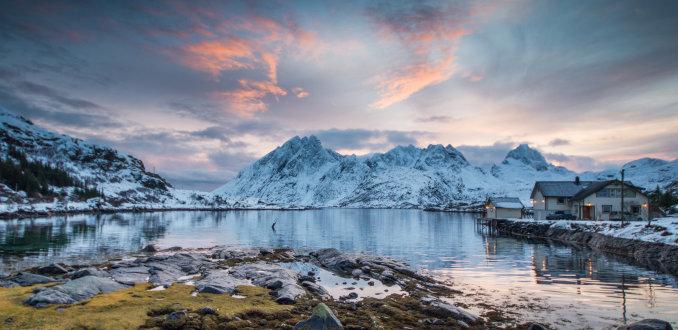 Huis bij Stjernfjorden