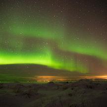 Noorderlicht op de Lofoten