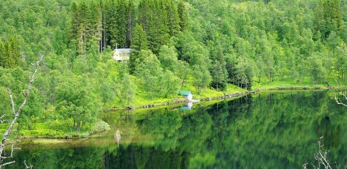 Onderweg naar Laukvik