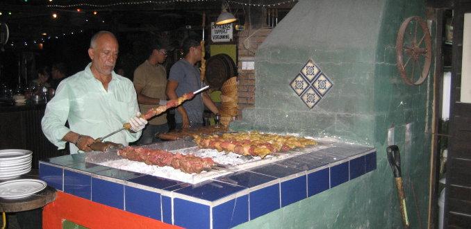 Eten bij Equus, Curacao