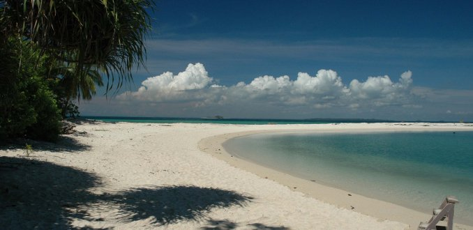 Wit strand