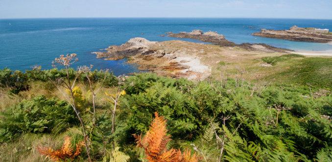 Landschap op Alderney