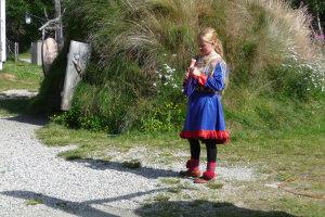 Traditionele kleding van Lapland