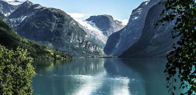 De pracht van Noorwegen