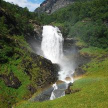 Noorwegen waterval land nummer 1