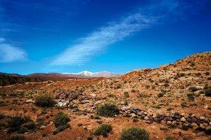 Atlas Mountain in lagen.