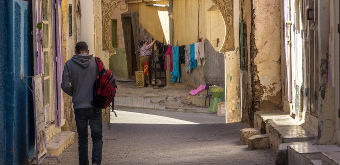 Zomaar een straatje in Azrou