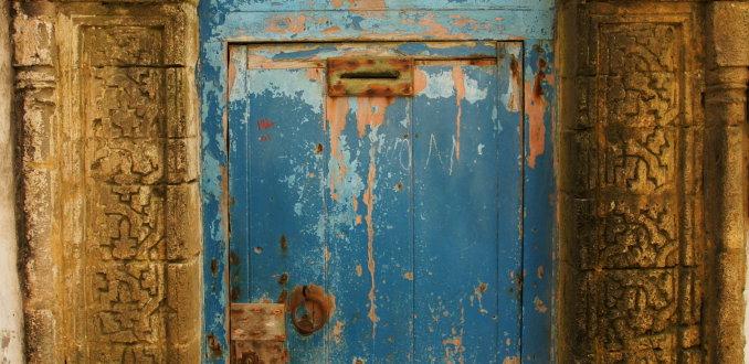 Oude deur!!