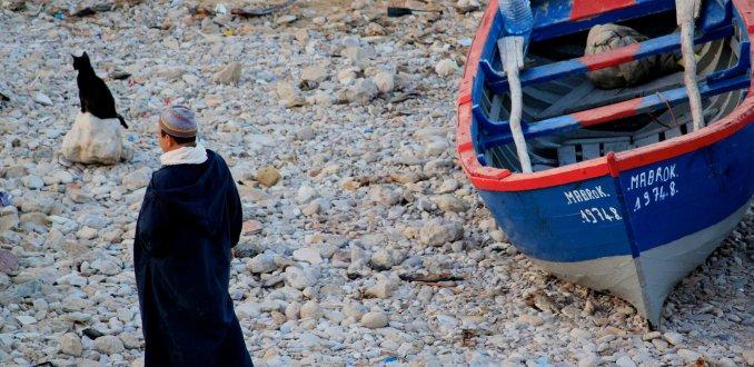 Vissersbootjesstrand, Taghazout
