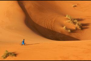 Woestijnfiets