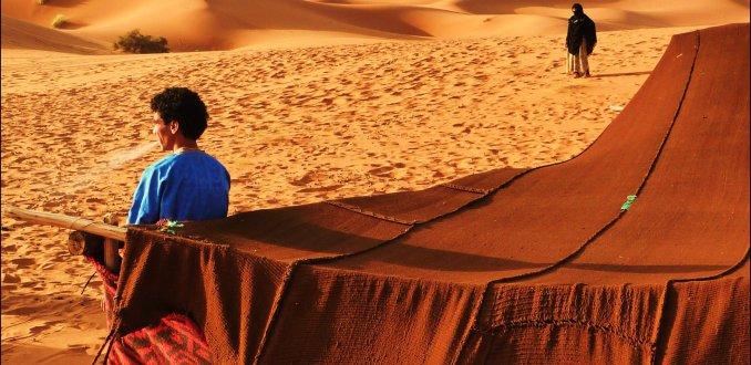 Wonen in de woestijn.