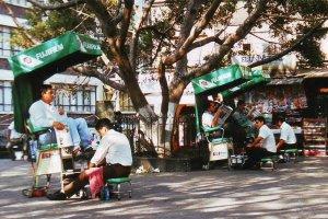 Schoenpoetsers in Cuernavaca