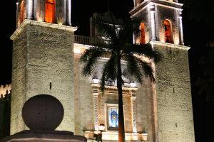 Nachtelijk Valladolid