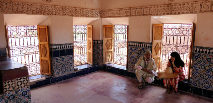 Kasbah Taourit in  Ouazarzate