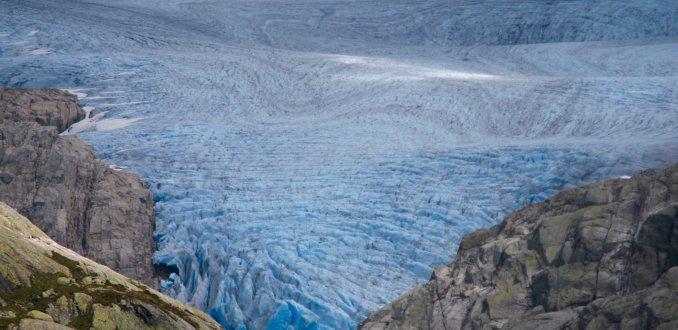 De Folgefonna gletsjer