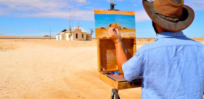 de schilder