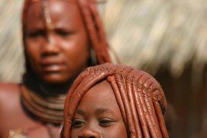jong Himba meisje