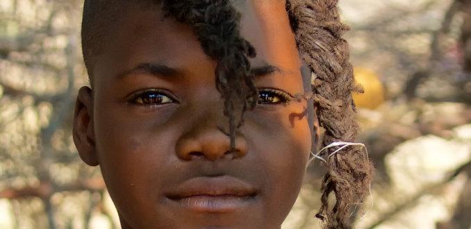 Himba jongen