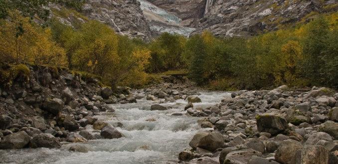 gletsjer bij Bodal