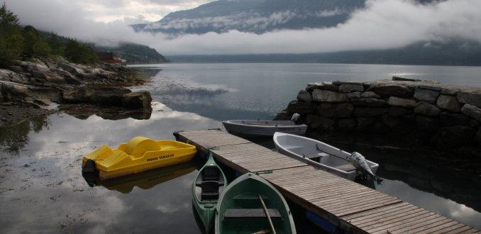 Ochtend aan het Sognefjord