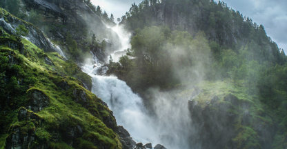 Waterval Latefoss