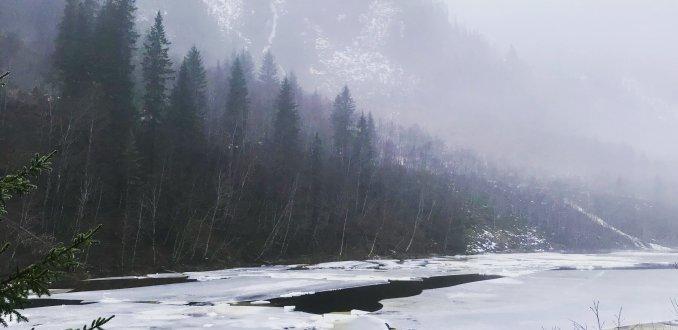 Winters Noorwegen