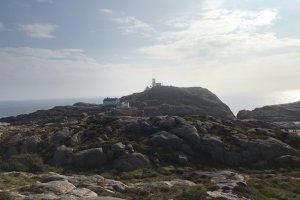 Lindesnes Fyr; het meest zuidelijke puntje van Noorwegen