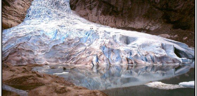 Briksdal gletsjer.