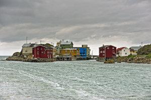 Nyksund, spookstadje aan de Noorse zee