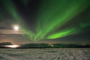 Noorderlicht en maanlicht
