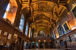 Bamburgh castle, een koninklijke zetel