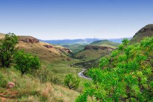 De Drakensbergen van KwaZulu-Natal