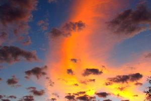 Molopo sunset