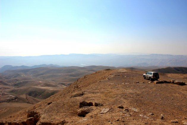 Op jeepsafari door de Judea woestijn