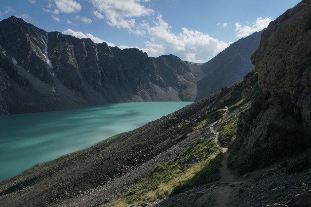 Als de zon onder gaat in Kyrgyzstan