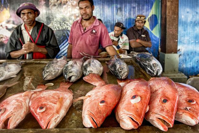 Koki vis markt