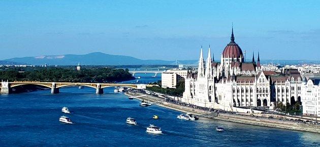 Het imponerende parlementsgebouw van Boedapest