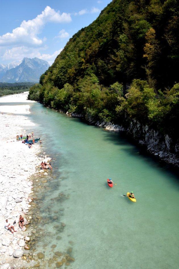 De Soca rivier