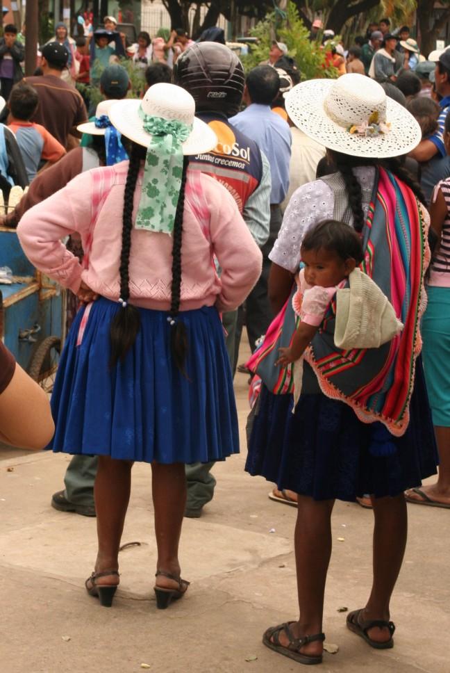 Boliviaanse vrouwen