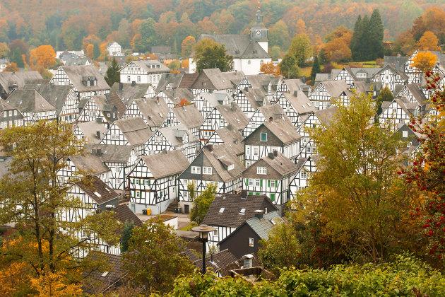 Freudenberg, leuk dorpje in Sauerland