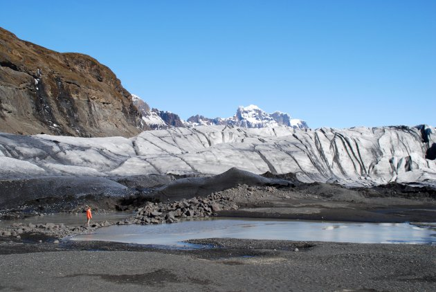 De gletsjertong Skaftafellsjökull