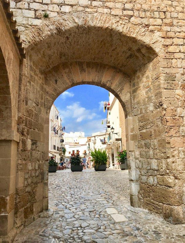 Dalt vila in Ibiza Stad