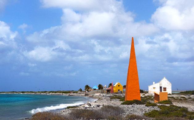 Oranje boven op Bonaire...