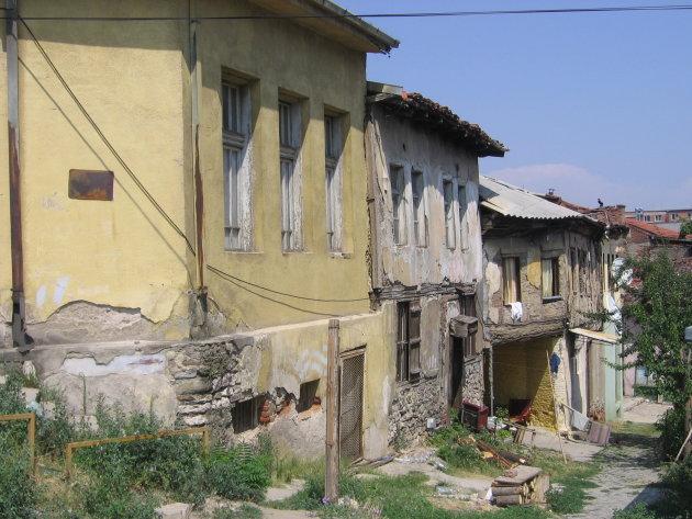 straatje in Skopje