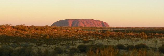 panorama Uluru