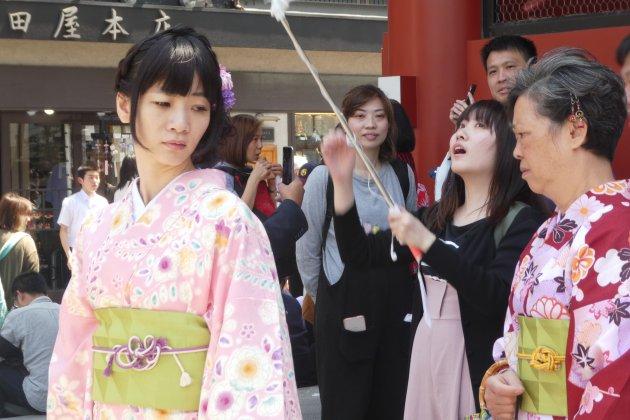 Toerist in eigen land of traditionele Japanse?