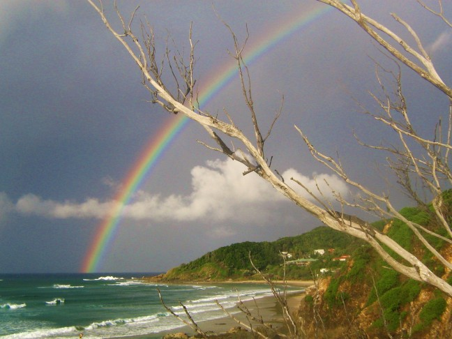 Regenboog Byron Bay